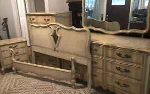 Marble Top french provincial bedroom set