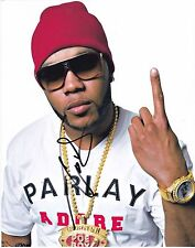 FLO RIDA FLORIDA RAPPER SIGNED 8X10 PHOTO AUTHENTIC AUTOGRAPH COA A