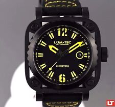 LUM-TEC DIVER G8 NEW + GIFT MEN'S WATCH AUTHORIZED DEALER FREE SHIPPING + VIDEO