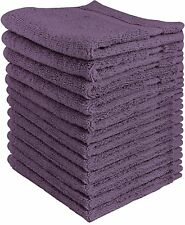 Towel Set Luxury Cotton Washcloth (12 Pack,12x12 Inches) by Utopia Towels