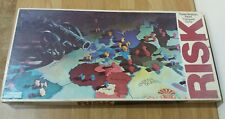 Risk Vintage Parker Brothers Boardgame World Conquest 1980
