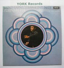 SXL 6482 - SAINT-SAENS - Symphony No 3 MEHTA Los Angeles PO - Ex Con LP Record