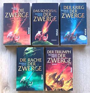 DIE ZWERGE 1-5 Saga Taschenbuch / Deutsch/ Markus Heitz