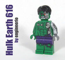 LEGO Custom - Hulk Earth 616 - Marvel Super heroes mini fig cosmic robot