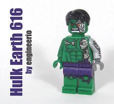LEGO Custom - Hulk Earth 616 - Marvel Super heroes mini fig cosmic robot