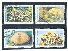 THAILAND 1983 Corals (Fauna) FU