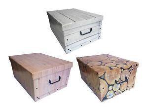 Caja de Almacenamiento De Cartón Caja para Todo Uso Caja Cajetilla Caja