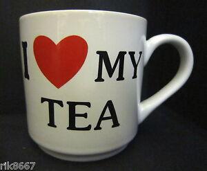 virtually a Pint Pot Or Mug I Love My Tea Stoneware