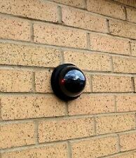 Genuine Looking Dummy CCTV Dome Camera for Shop House Garage Lift Garden Shed