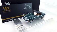 1:43 Jaguar E-Type Series I XK-E OTS Soft Top Century Dragon High-end Green