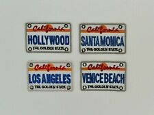 Sale - America California Licence Plate Iron on Embroidered Applique Patches