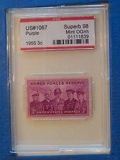 1067 1955 Armed Forces Reserve PSE Graded Superb 98 OGNH   FREE US Shipping