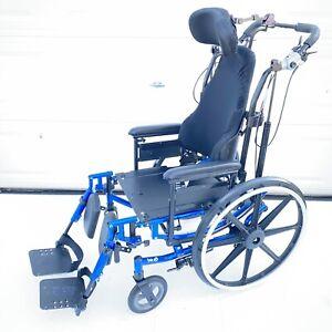 Invacare Solara 3G Tilt In Space Recline J2 Contour adjustable Wheelchair 20x18