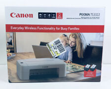 Canon Pixma TS3322 Wireless Ink Jet All In One Printer NEW