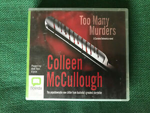 Too Many Murders by Colleen McCullough - Bolinda Audiobook