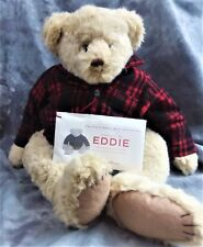 "LIMITED ED EDDIE BAUER BUNNIES BY THE BAY STUFFED BEAR ""EDDIE"" 22"" JOINTED W/COA"