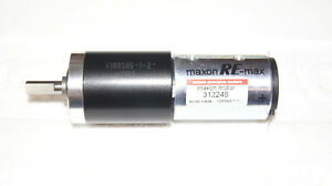 Combination Maxon Gearhead GP32A reduction 111:1 with Re-max29 Motor 15 Watt