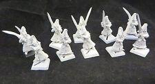 Warhammer High Elves  Sword Masters Hoeth army lot metal