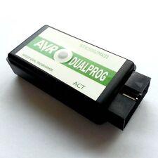 AVRISP STK500+MKII DUAL USB programmer ATMEL AVR ISP PDI TPI Xmega WIN8 DUALPROG