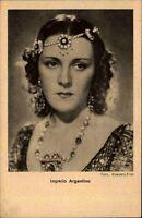 Schauspielerin Kino Film Theater V.: ROSS ~1930 Porträt-Foto Imperio Argentina