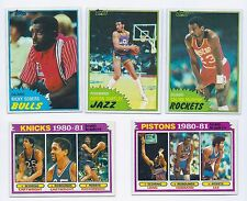 1981-82 TOPPS BASKETBALL VENDING MINT COMMONS EAST WEST MIDWEST COMPLETE UR SET