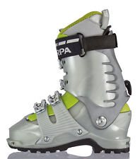 Scarpa 12019 Womens Shaka Alpine Touring Ski Boot Mondo 250 Us 6 Made In Italy