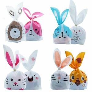 10/50pcs/lot Cookie Plastic Bags & Candy Gift Bags Event Party Supplies