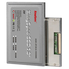 "KingSpec 1.8"" ZIF CE SSD 128 Go For HP 2510P 2710P ipod Classic 6th/7th gen"