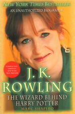J. K. Rowling: The Wizard Behind Harry Potter ~ Softcover 2004