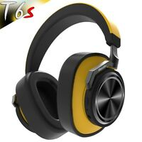 Bluedio T6s Bluetooth 5.0 Cordless ANC Headphones HiFi Sound Wireless Headset