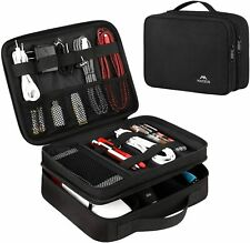 Electronics Travel Organizer, Watreproof Electronic Accessories Case Portable Do