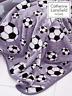 Catherine Lansfield Football Throw Grey, 120x150cm 150 x 120 x 0.5 cm, Grey