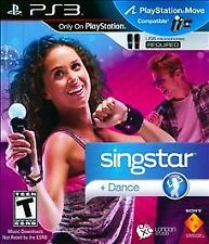 SingStar Dance (Sony PlayStation 3, 2010) - DISC ONLY