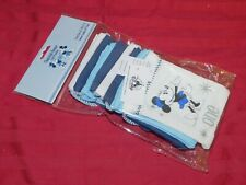 Disney Park Happy Chanukah Banners 8 Mickey Minnie Mouse Eight Pouches NWT