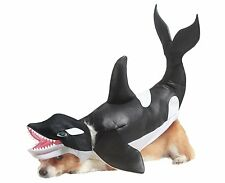 ORCA WHALE DOG COSTUME - ANIMAL PLANET - SIZE MEDIUM - LIKE SHAMU
