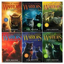 WARRIORS: A VISION OF SHADOWS Series by Erin Hunter HARDCOVER Set of Books 1-6
