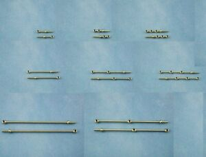 Model Boat Fittings Caldercraft Stanchions- Choice of styles and sizes available