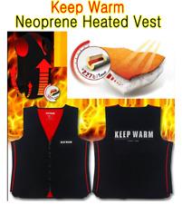 [Korea]Neoprene Heated Vest [Keep Warm-No battery heated vest]