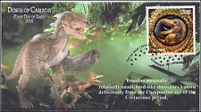 2016, Canada Fdc, Dinos of Canada, Troodon inequalis 16-017