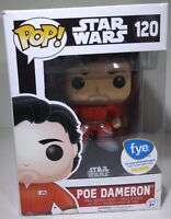 Funko Pop # 120 Star Wars: The Force Awakens Poe Dameron Vinyl Figure Bobblehead