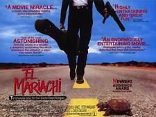 EL MARIACHI Movie POSTER 11x17 B Carlos Gallardo Consuelo Gomez Peter Marquardt