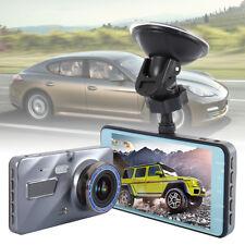 "3"" 1080P Car DVR Dash Cam Video Recorder 170° Dual Lens Front And Rear Camera UK"