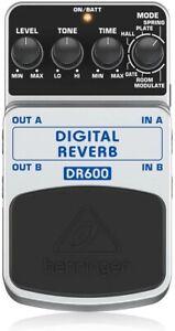 SALE Behringer DR600 DIGITAL REVERB Digital Stereo Reverb Effects Pedal