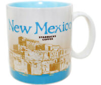 Starbucks New Mexico Cup Coffee Mug Collector Icon Series 16 Oz Rare w Tags