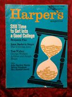 HARPER's April 1967 ISAAC BASHEVIS SINGER TOM WICKER ++