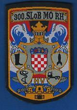 CROATIA ARMY, 300th LOGISTIC BASE - SECTOR 1996. 300. SLOB MORH, VINTAGE PATCH