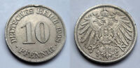 Deutsches Reich - Kaiserreich - 10 Pfennig - 1908 A (1)