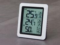 TFA Innen Außen Thermometer Größe XL Wandthermometer Metall Rostfrei 326mm R5.19
