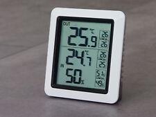 Funk Thermometer Außentemperatur Aussen Innentemperatur TFA Dostmann weiß