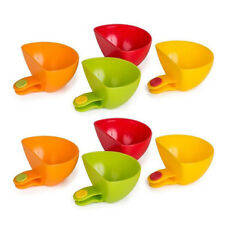2x Mini Dip Clip Plate Clips Sauce Clips Dipping Condiment Clips Cups Side Bowls